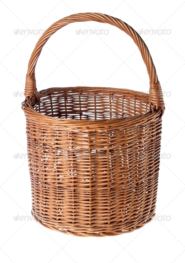 Wicker Basket - Stock Photo - Images