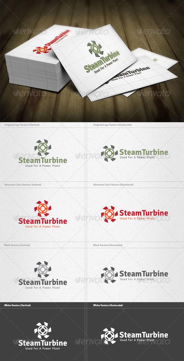 Steam Turbine Logo - Symbols Logo Templates