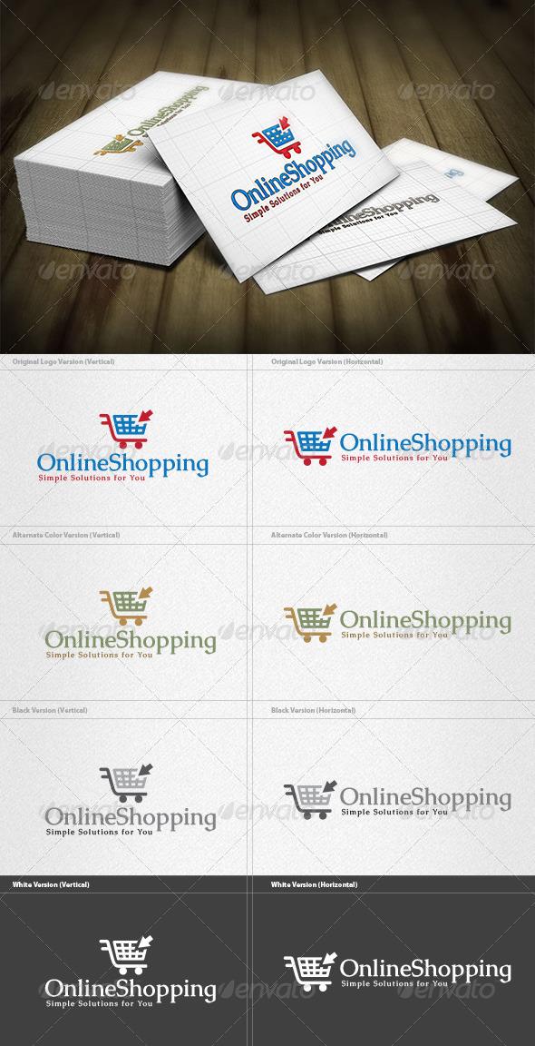 Online Shopping Logo - Symbols Logo Templates