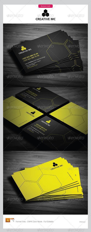 Corporate Business Cards 317 - Corporate Business Cards