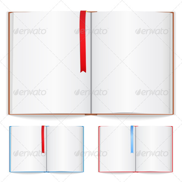 Open Book - Objects Vectors