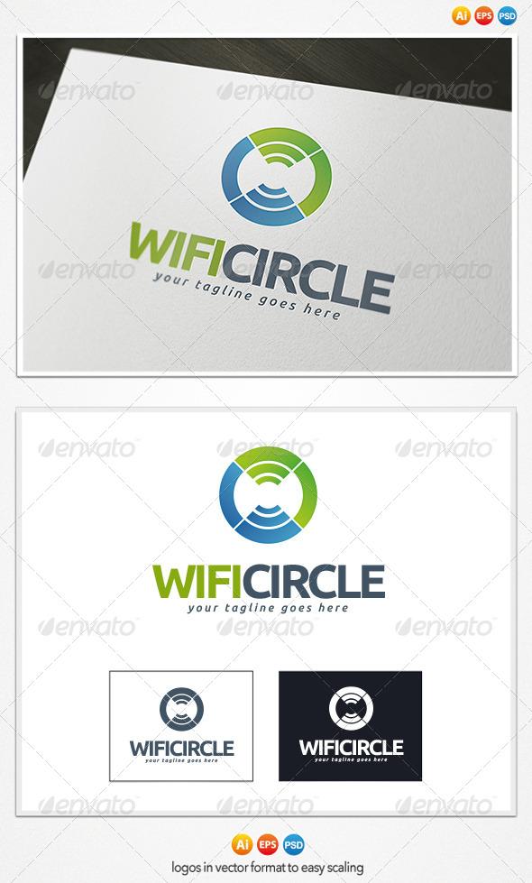 Wifi Circle Logo - Symbols Logo Templates