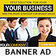 Corporate Banner Design Template 7 - GraphicRiver Item for Sale