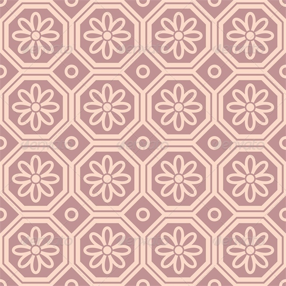 Pink Ornamental Pattern - Patterns Decorative