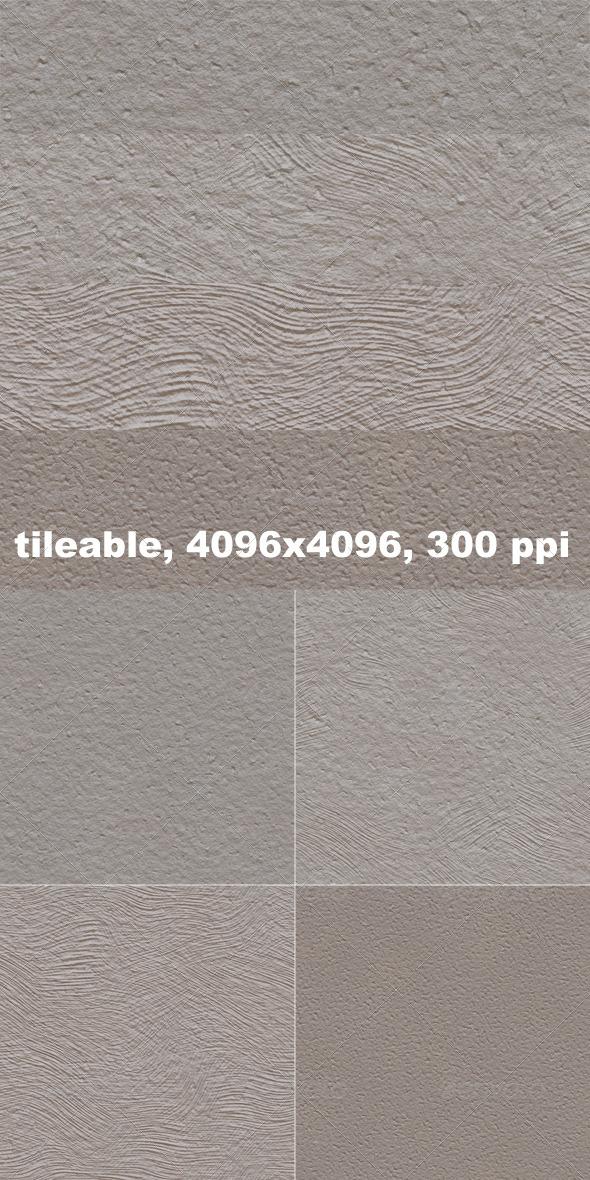 4 Stucco Textures - Textures