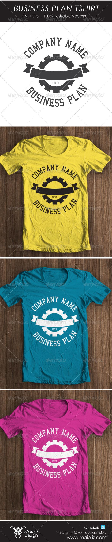 Business Plan Tshirt - Business T-Shirts