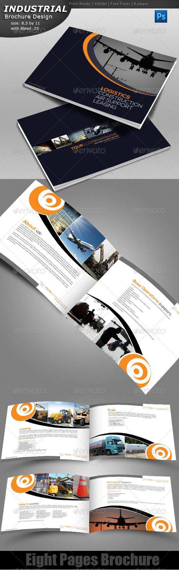 Industrial Brochure - Brochures Print Templates