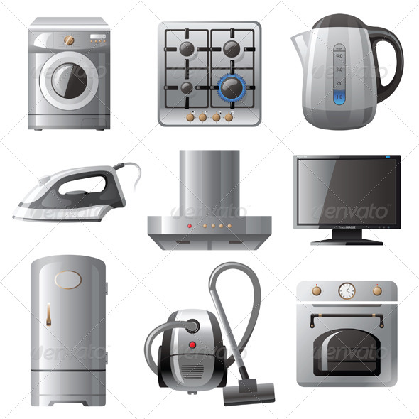 Household Appliances - Man-made Objects Objects