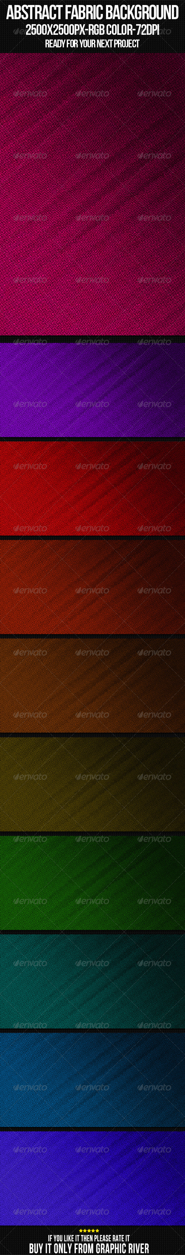 Abstract Fabric Background Set 12 - Miscellaneous Backgrounds