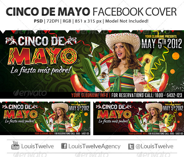 Cinco de Mayo Party | Facebook Cover