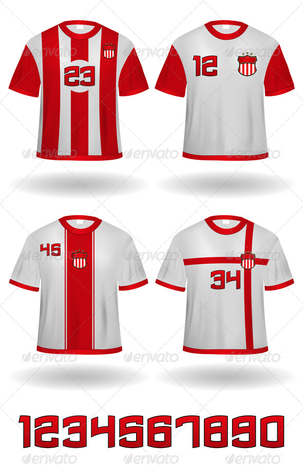 Sports Jerseys - Sports/Activity Conceptual