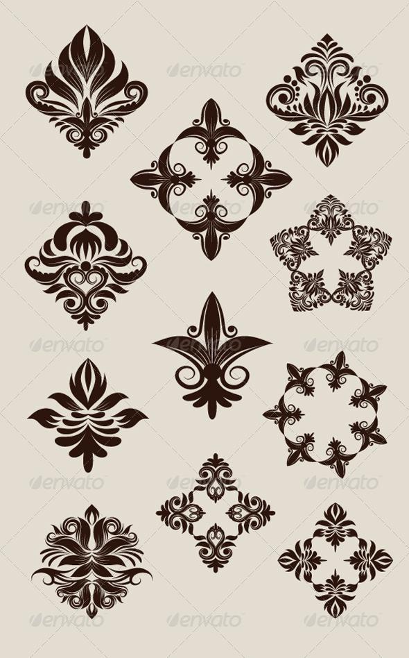 Icon Decorative Ornament - Decorative Symbols Decorative