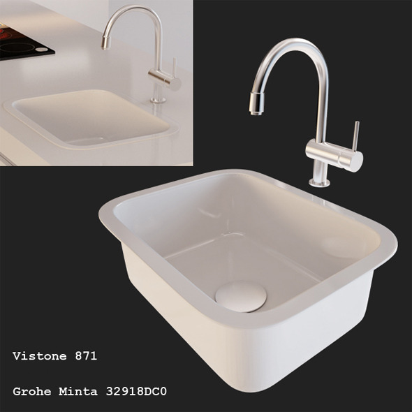 Kitchen Sink - 3DOcean Item for Sale