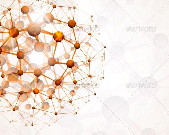 Molecular Structure - Health/Medicine Conceptual