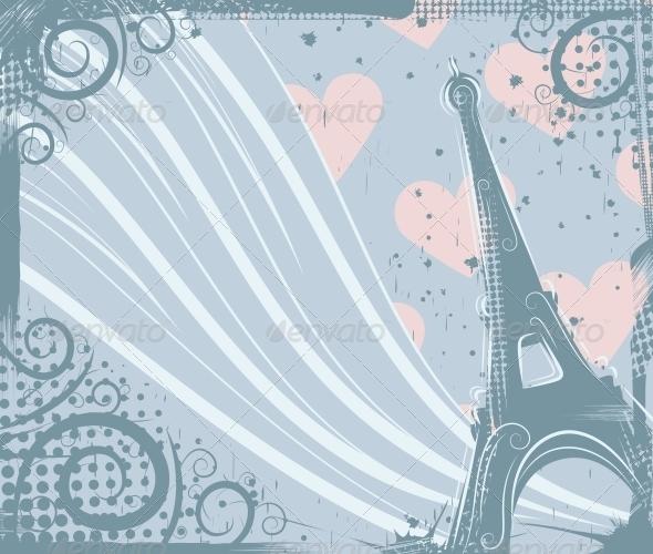 In Paris - Buildings Objects