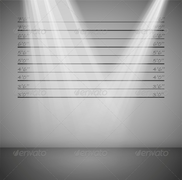 Criminal Background with Lines - Backgrounds Decorative