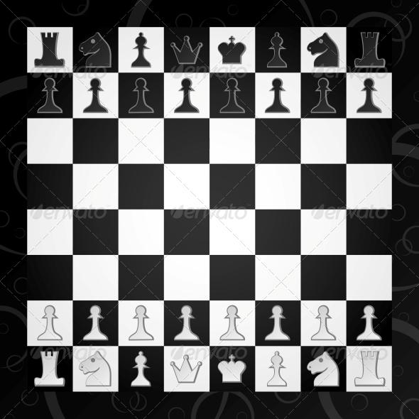 Chess - Sports/Activity Conceptual