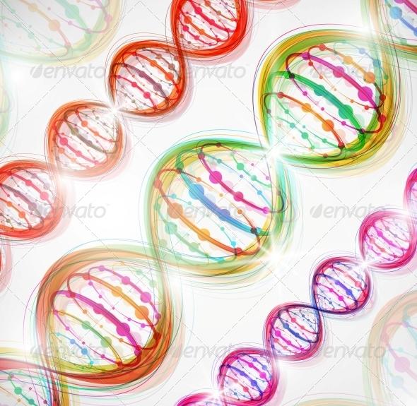 DNA Molecule - Health/Medicine Conceptual