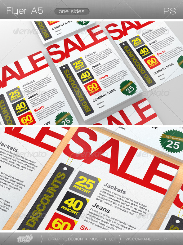 Sale - Commerce Flyers
