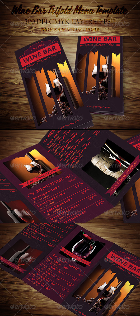 Sample Wine Menu Template   Download Documents In Psd Pdfbar