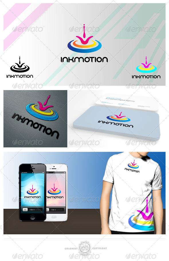 inkmotion logo - Symbols Logo Templates
