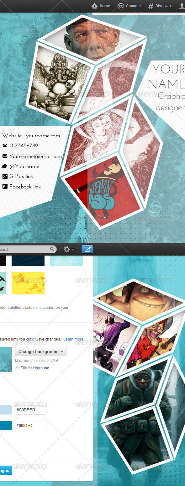 Gallery Cube Convex  on Twitter - Twitter Social Media