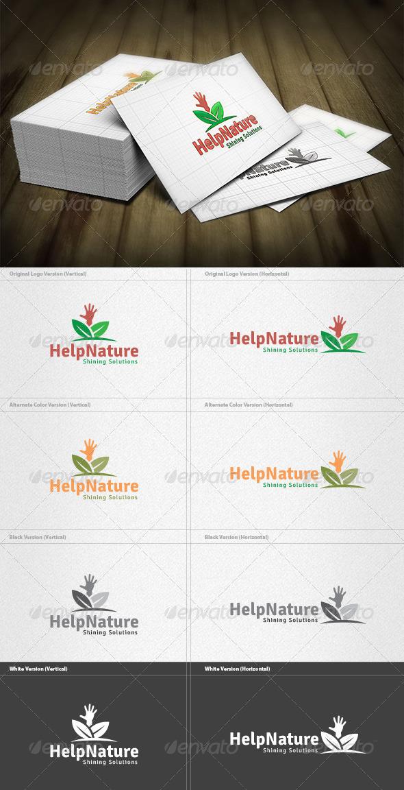 Help Nature Logo - Nature Logo Templates