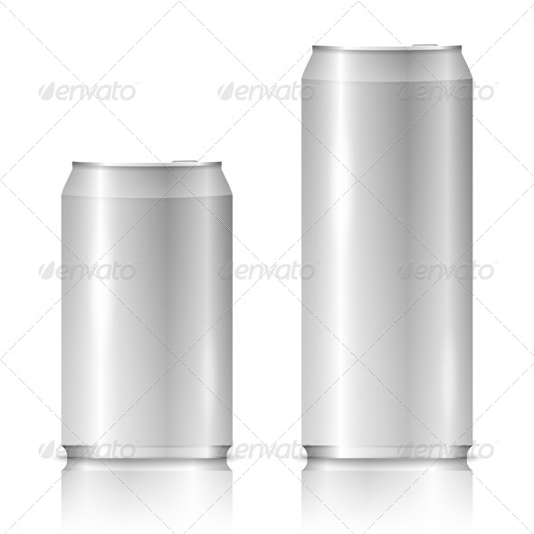Aluminum Cans - Objects Vectors