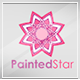 Painted Star Logo Template