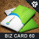 Business Card Design 60 - GraphicRiver Item for Sale