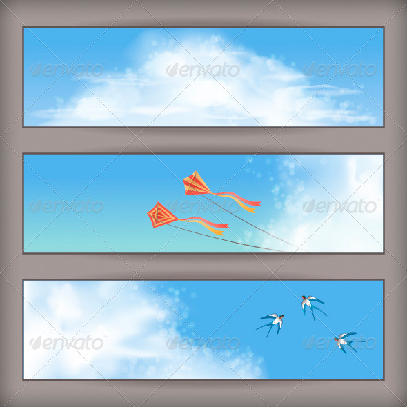 Sky Banners - Landscapes Nature