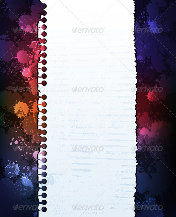 Grungy paper background - Backgrounds Decorative