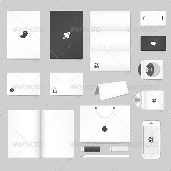 Corporate Identity Mockup - Concepts Business