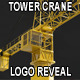 Tower Crane Showing Your Logo or Footage - VideoHive Item for Sale