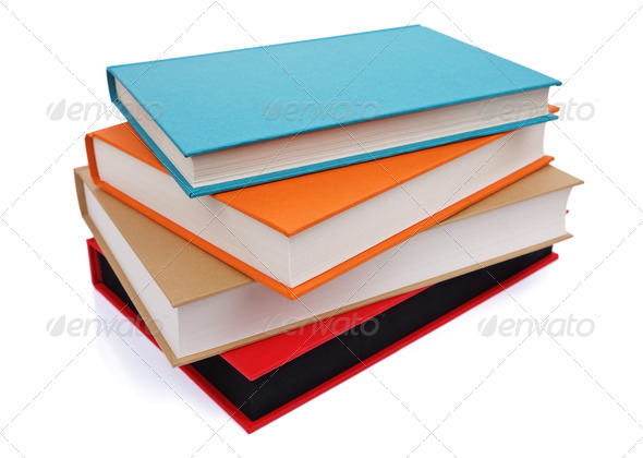 Stack of books - Stock Photo - Images