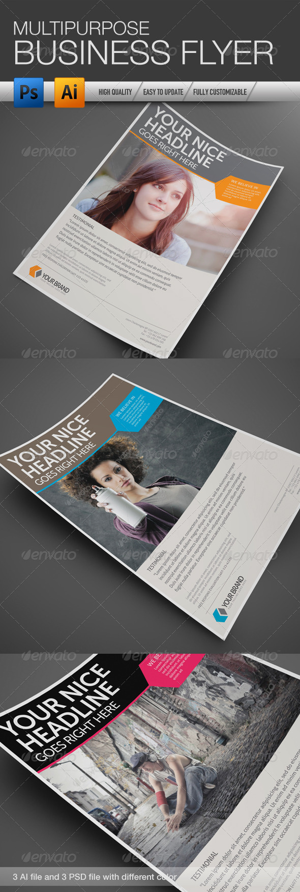 Multipurpose Business Flyer 4 - Corporate Flyers