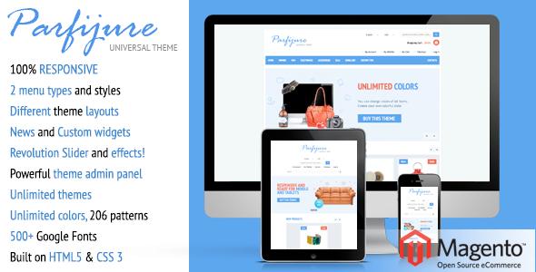 Parfijure – Responsive Magento theme! - Shopping Magento