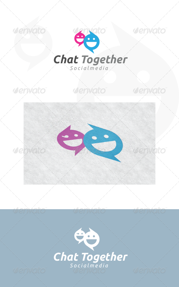 Chat Together - Logo Templates