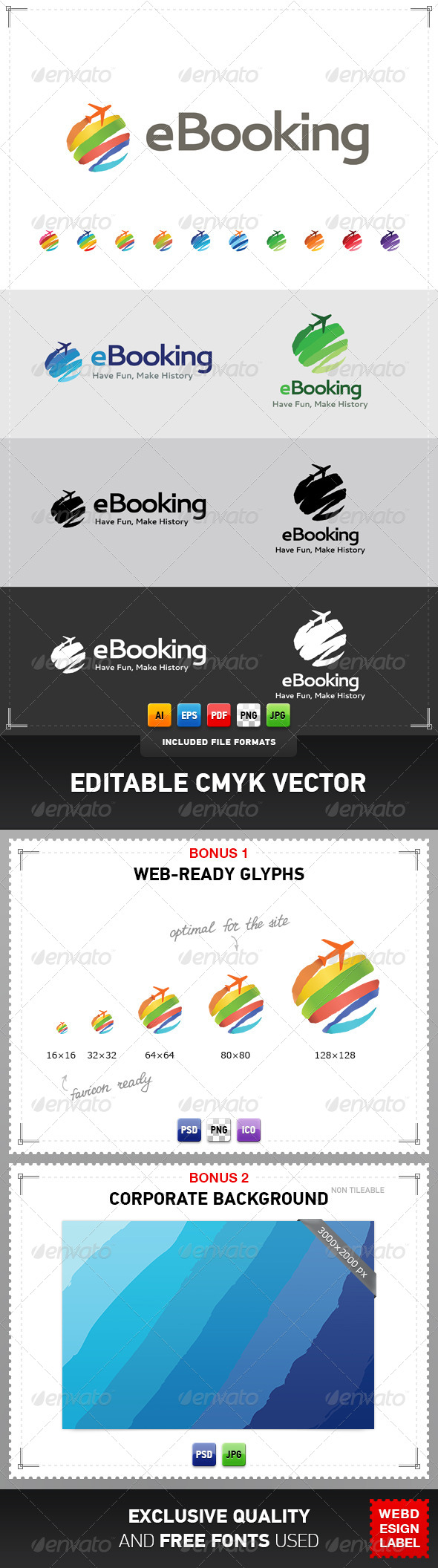 eBooking Logo - Objects Logo Templates