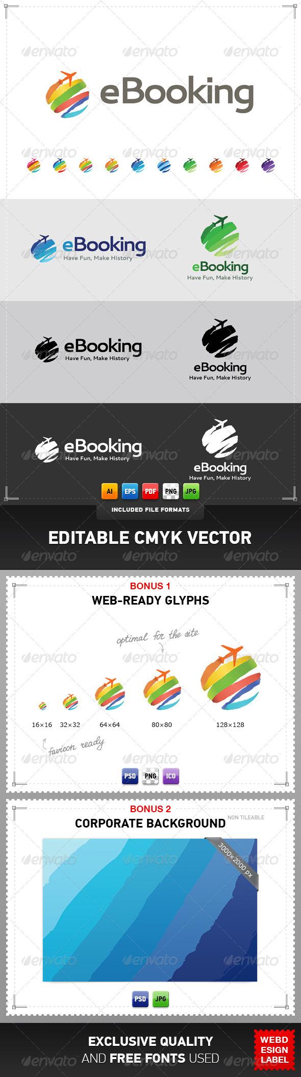 eBooking Logo - Objects Logo Templates