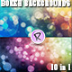10 Bokeh Backgrounds Pack - GraphicRiver Item for Sale