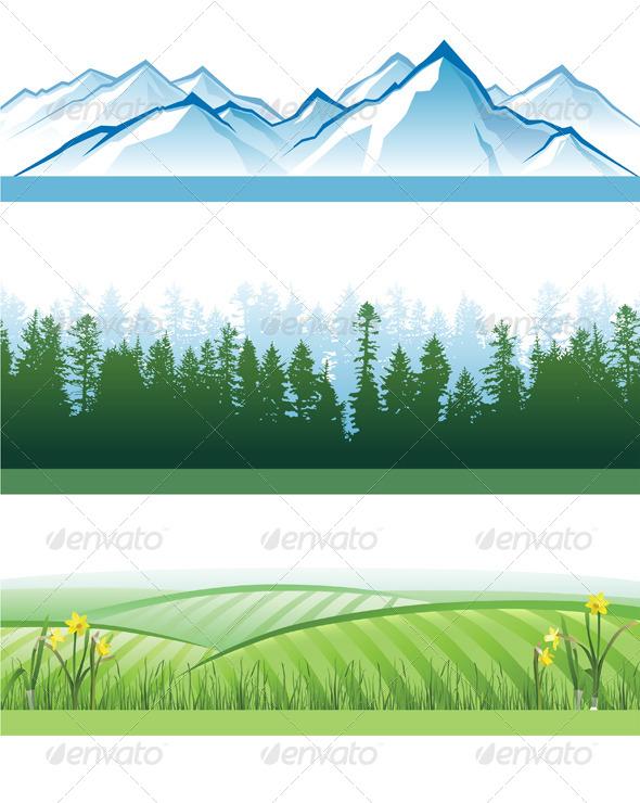 Landscape Banners - Landscapes Nature