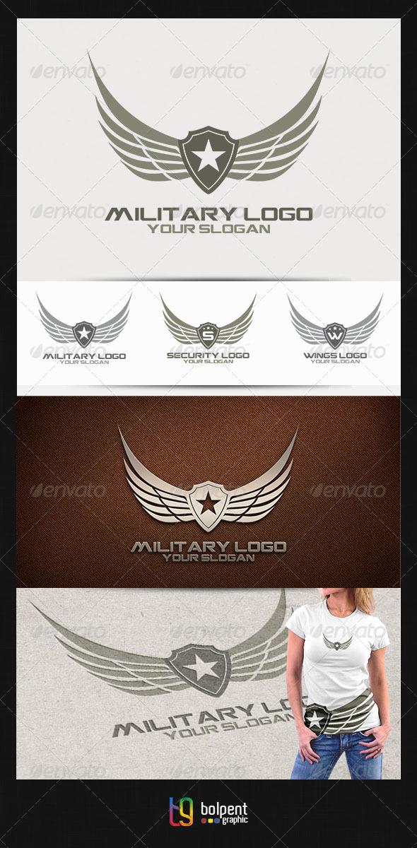 Military Logo v.2 - Crests Logo Templates