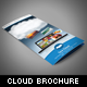 Cloud Storage Trifold Brochure - GraphicRiver Item for Sale