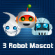 3 Robot Mascot - GraphicRiver Item for Sale