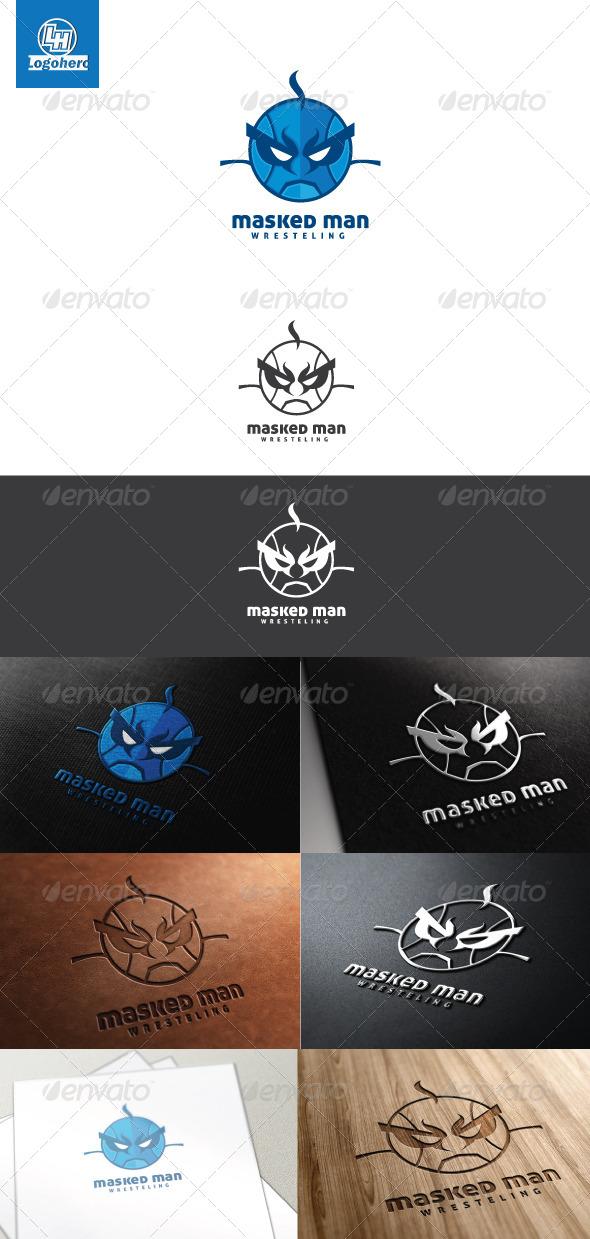 Masked Man Logo Template - Humans Logo Templates