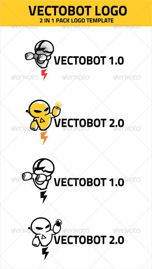 VECTOBOT LOGO TEMPLATE - Objects Logo Templates