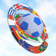 Football with Flags  - VideoHive Item for Sale