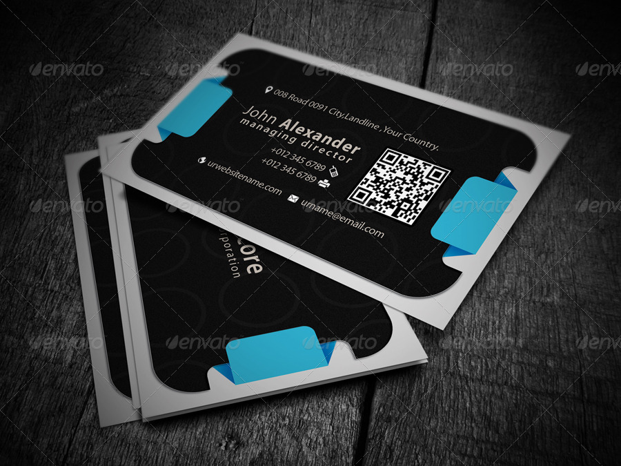 Personal Business Card by -axnorpix | GraphicRiver