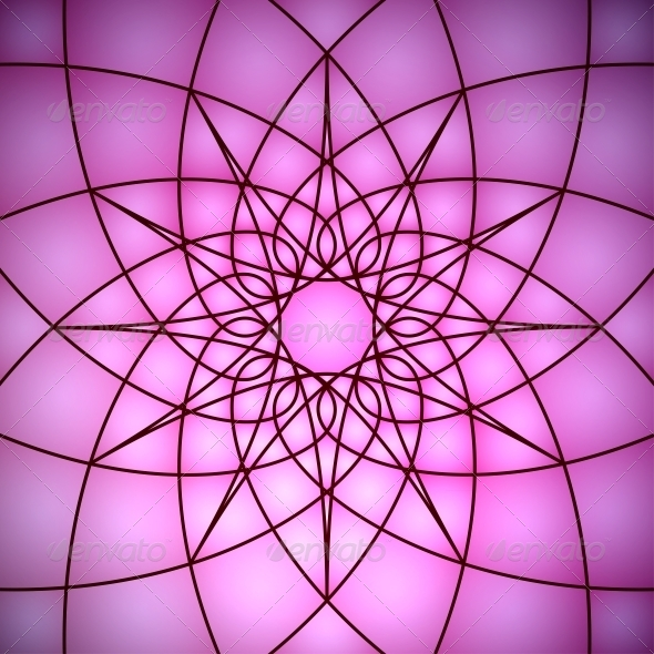Stained Glass Window - Backgrounds Decorative